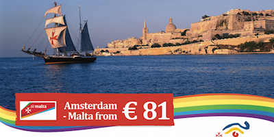 Malta promotion at the Gay Pride