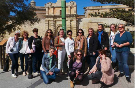 Explore Malta Study trip with ZRA's from The Travel Club