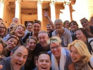 11 Dutch Award winning Provincial Travel Agents to Jordan2