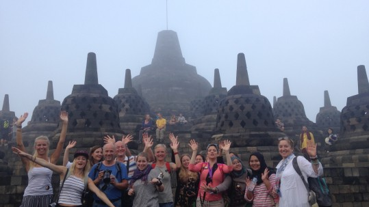 Journalists discover the wonders of Java during presstrip to Wonderful Indonesia