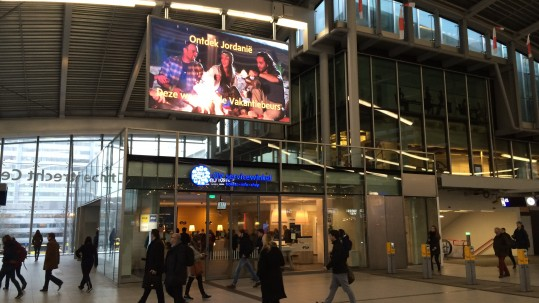 inspiring-video-spot-about-jordan-at-utrecht-central-station-during-vakantiebeurs2