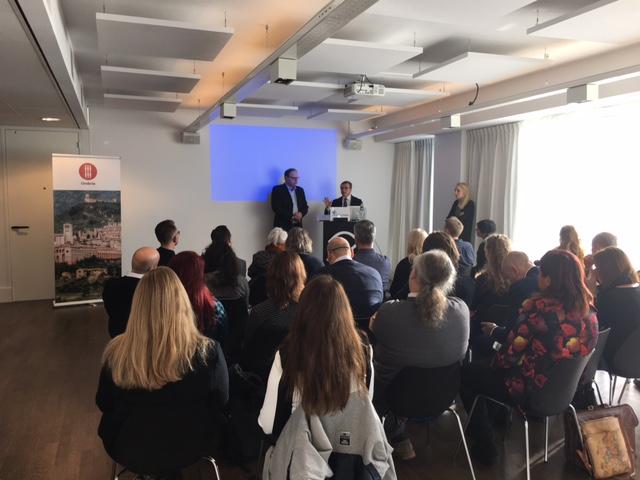 Press event Regione Umbria at Amsterdam EYE